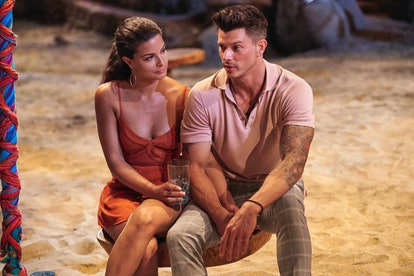 Kenny Braasch and Mari Pepin spend some quality time together on the beach during 'Bachelor in Parad...