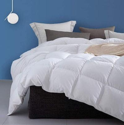 Dafinner Organic Down Feather Comforter (Queen)