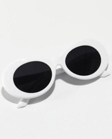 Oval Frame Sunglasses