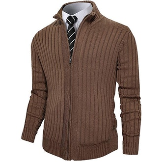 Pioneer Camp Men's Full Zip Sweater