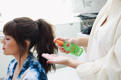 Mandy Moore getting ready for Emmy Awards with Ashely Streicher
