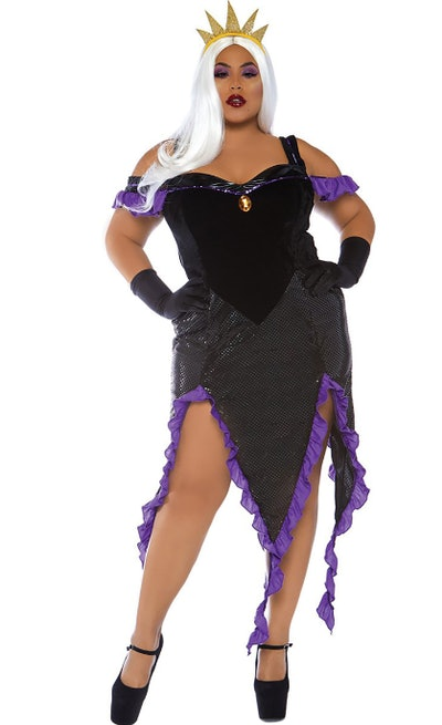Sea Witch Costume for plus size adults