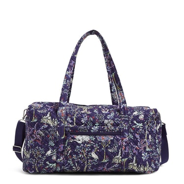 The Vera Bradley X 'Harry Potter' Collection features a duffel bag for traveling.