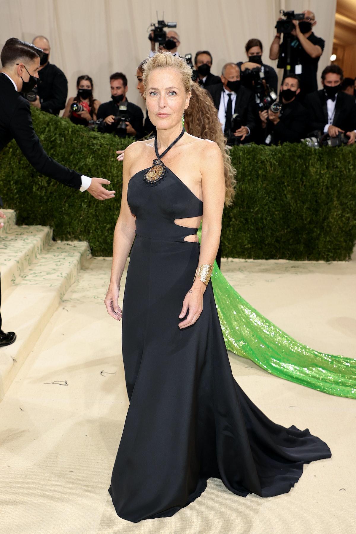 Gillian Anderson at Met Gala