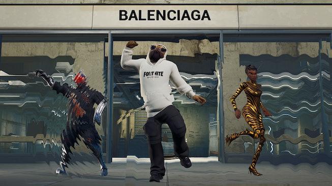 Balenciaga x Fortnite.