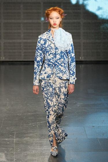 A look by Yuhan Wang