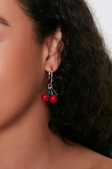 Cherry Earrings For Halloween Costume
