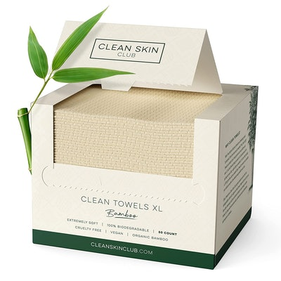 Clean Skin Club Bamboo Biodegradable Face Towel