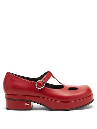 Vanda leather Mary Jane pumps Gucci