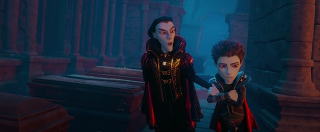 The Little Vampire is an animated movie.