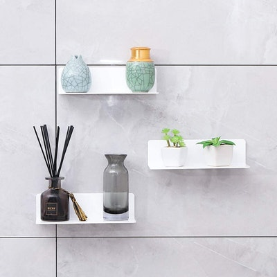 IEEK 9 Inch Acrylic Floating Shelves