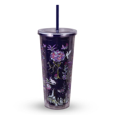 The Vera Bradley X 'Harry Potter' Forbidden Forest Collection features a tumbler.