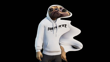 A look from the Balenciaga x Fortnite collab