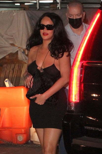 Exclusive - Rihanna parties the night away with friends, New York, USA - 05 Aug 2021