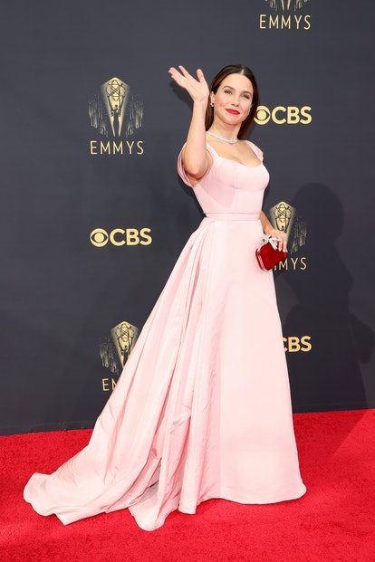 Sophia Bush attends the 73rd Primetime Emmy Awards at L.A. LIVE on September 19, 2021 in Los Angeles...