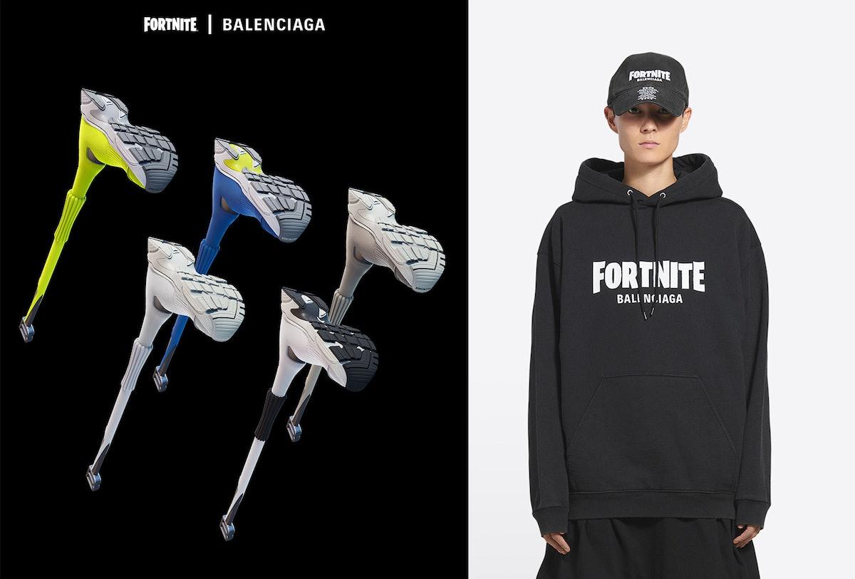نگاهی به همکاری Balenciaga x Fortnite