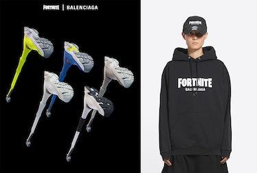 A look at the Balenciaga x Fortnite collab