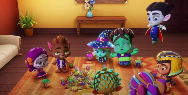 Super Monsters Vida's First Halloween is streaming on Netflix.