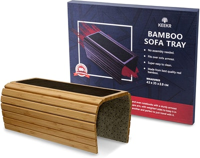 KEEKR Bamboo Couch Tray