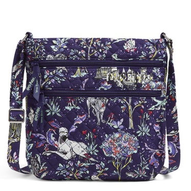 The Vera Bradley X 'Harry Potter' Forbidden Forest Collection features a crossbody bag.