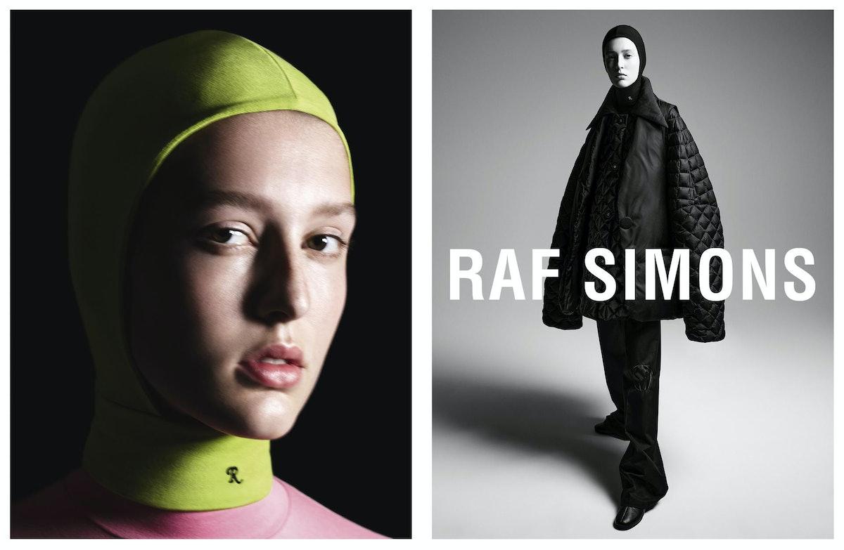 Raf Simons Fall 2021 campaign.