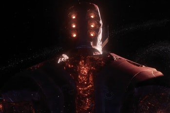 A Celestial in the Eternals trailer.