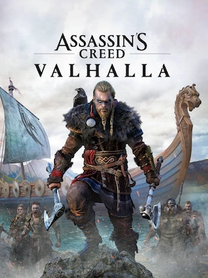 The cover of 'Assassin's Creed Valhalla'