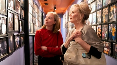 Ava (Hannah Einbinder) and Deborah (Jean Smart) in a scene from Season One of 'Hacks.'
