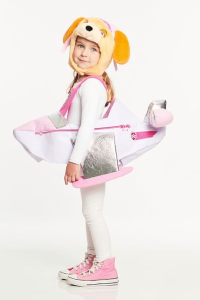 This Skye 'Paw Patrol' costume is one TV Halloween costume for girls.