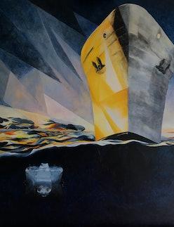 Alexandra Gould painting