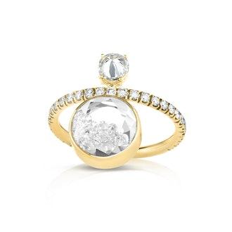 Diamond Eternity Shaker Ring from Moritz Glik.