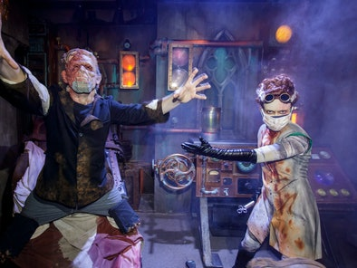The Universal Studios' Halloween Horror Nights 2021 has Bride of Frankenstein merch based on the hau...