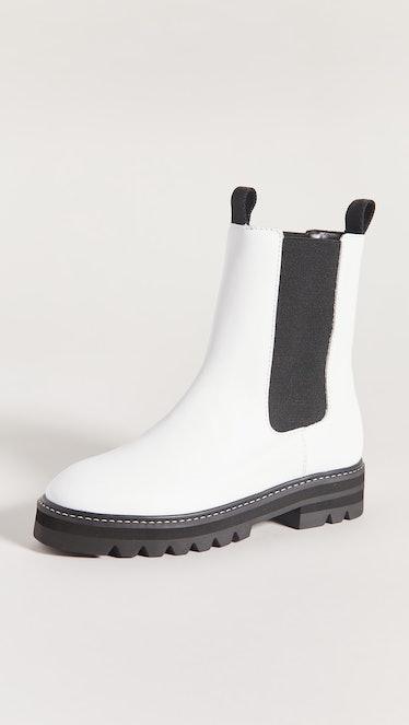 Lug Sole Chelsea Boots