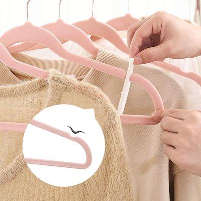 Smartor Velvet Hangers (50-Pack)
