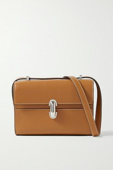 Symmetry 19 Leather Shoulder Bag