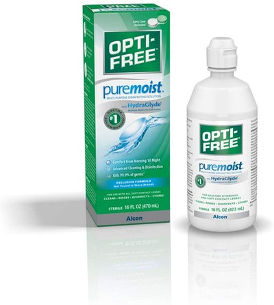 Opti-Free Puremoist Multi-Purpose Disinfecting Solution, 10 Oz. (2-Pack)