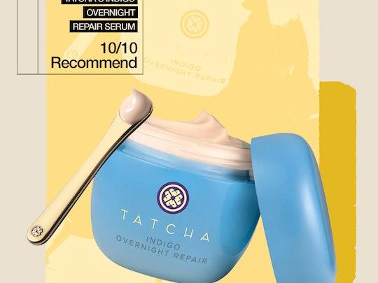 My honest review of Tatcha's Indigo Overnight Repair Serum.