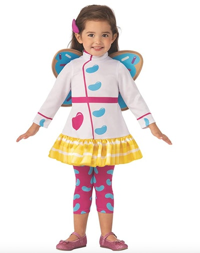 One TV Halloween costume choice for girls is this Butterbean's Cafe costume.
