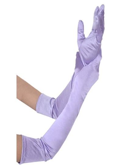 JISEN Women Satin gloves