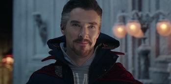 Benedict Cumberbatch as Doctor Strange in Spider-Man: No Way Home