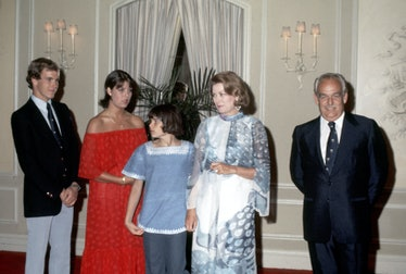 Grace Kelly and royal family.