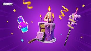 fortnite 2021 birthday challenge rewards