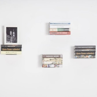 STORAGE MANIAC Invisible Book Shelves
