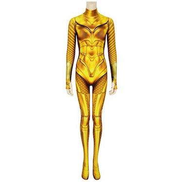 Wonder Woman 1984 WW84 Diana Prince Golden ARMOR