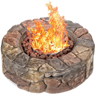 Best Choice Products Gas Fire Pit