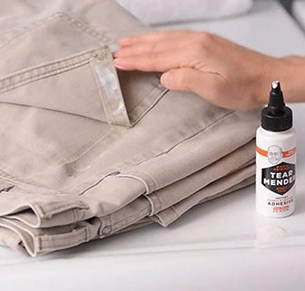 Instant Fabric and Leather Adhesive