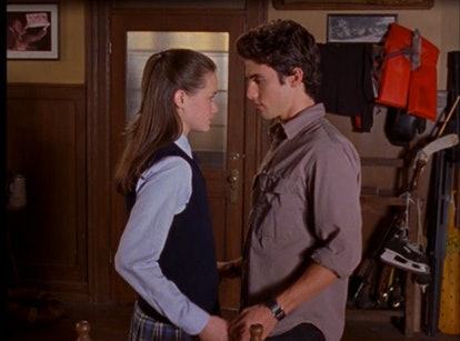 Jess ( Milo Ventimiglia) and Rory (Alexis Bledel) share a moment in 'Gilmore Girls.'