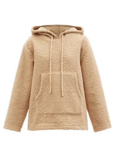Bear Fleece Hooded Sweatshirt