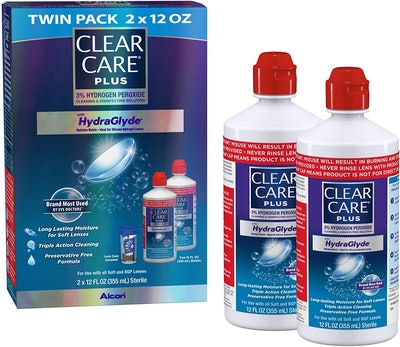 Clear Care Plus Cleaning Solution, 12 Oz. (2-Pack)