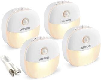 AUVON Motion Sensor Night Lights (4 Pack)